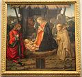 Scuola del ghirlandaio, natività coi ss. giuliano e francesco, 1500-10 ca. 01.JPG