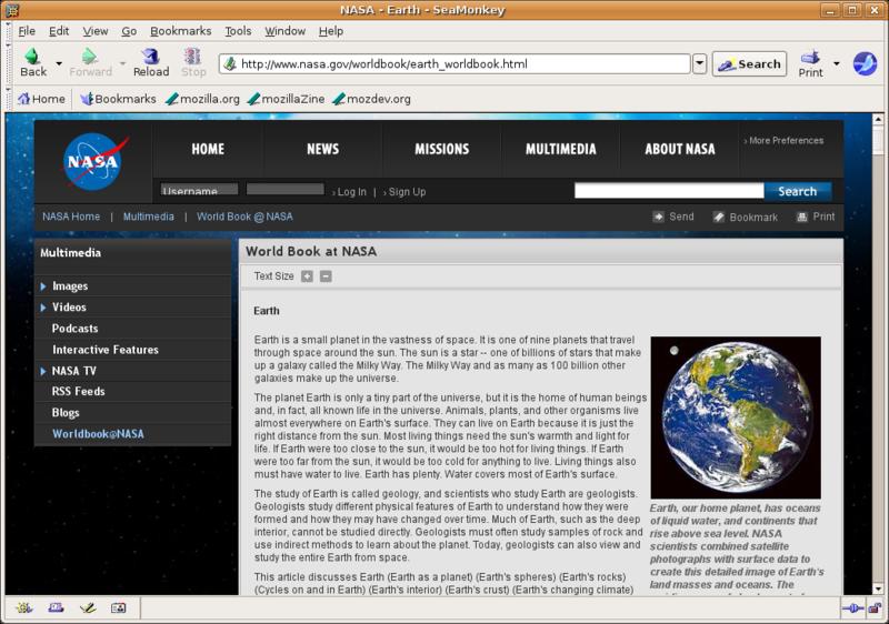 Berkas:SeaMonkey screenshot ubuntu.png