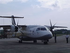 Cebgo - SEAIR Dornier Do-328 parked in Godofredo P. Ramos Airport