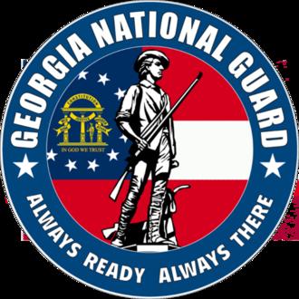 Georgia Army National Guard - Image: Seal of the Georgia National Guard