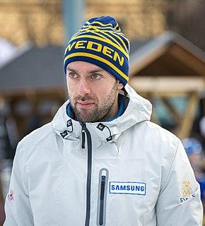 Sebastian Kraupp Swedish curler
