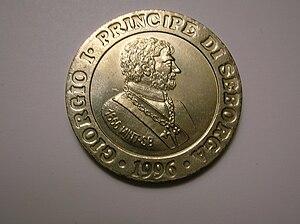 Giorgio Carbone - Coin of Prince Giorgio