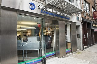 Q Second Avenue Subway Map.86th Street Station Second Avenue Subway Wikipedia