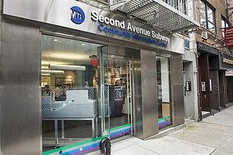Second Avenue Subway - Second Avenue Subway Community Information Center for Phase 1