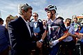 Secretary Kerry Shakes Hands With Tour De France Winner and U.K. Olympian Chris Froome (28698838632).jpg
