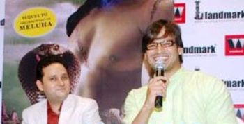 English: Vivek Oberoi at the launch of The Sec...