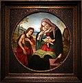 Seguace di botticelli, madonna col bambino e san giovannino, 1490 ca. 01.jpg