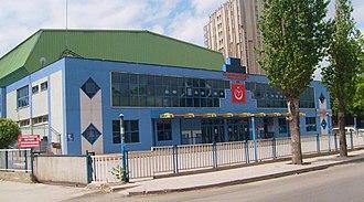 Selim Sırrı Tarcan Sport Hall - Image: Selim Sırrı Tarcan Sport Hall