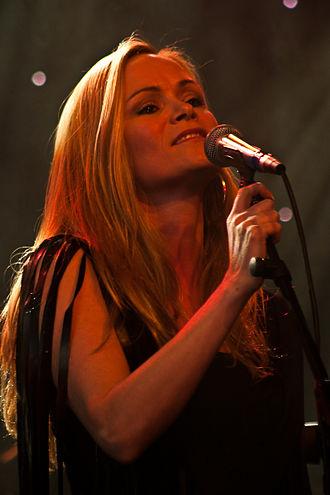 Selma Björnsdóttir - Selma performing in 2010
