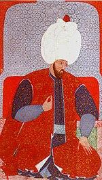 Süleyman'ın gençlik portresi