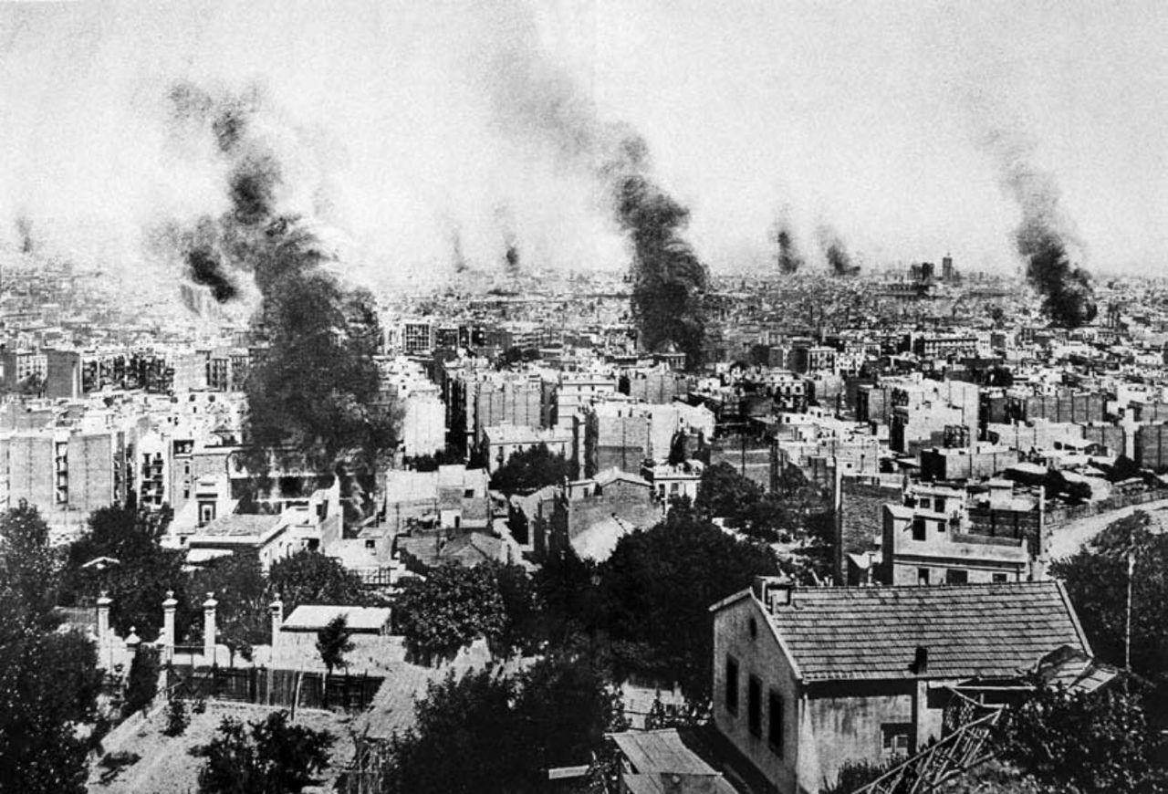 Barcelona se convirtió en La ciudad quemada durante la Semana Trágica.