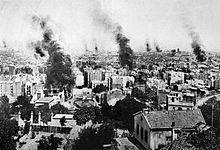 Barcelona se convirtió enla ciudad quemadadurante laSemana Trágica(1909).