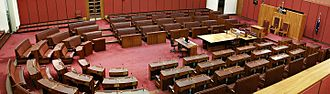 Legislature - The Australian Senate, its upper house