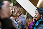Senator Tina Smith at an event in support of DACA at Hennepin County Government Center Minneapolis, MN (38854858634).jpg