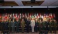 Senior military officers from Pacific nations pose for a group photo during the Pacific Armies Chiefs Conference in Auckland, New Zealand Sept. 9, 2013.jpg