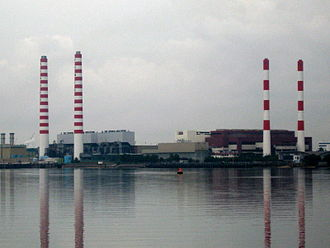 Sembawang - Image: Senoko Power Station
