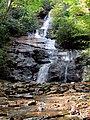 Setrock Creek Falls Black Mountain Campground Pisgah Nat Forest NC 4380 (24096593518).jpg