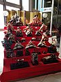 Seven-tiered Hina doll set in Kagoshima-Chuo Station.jpg