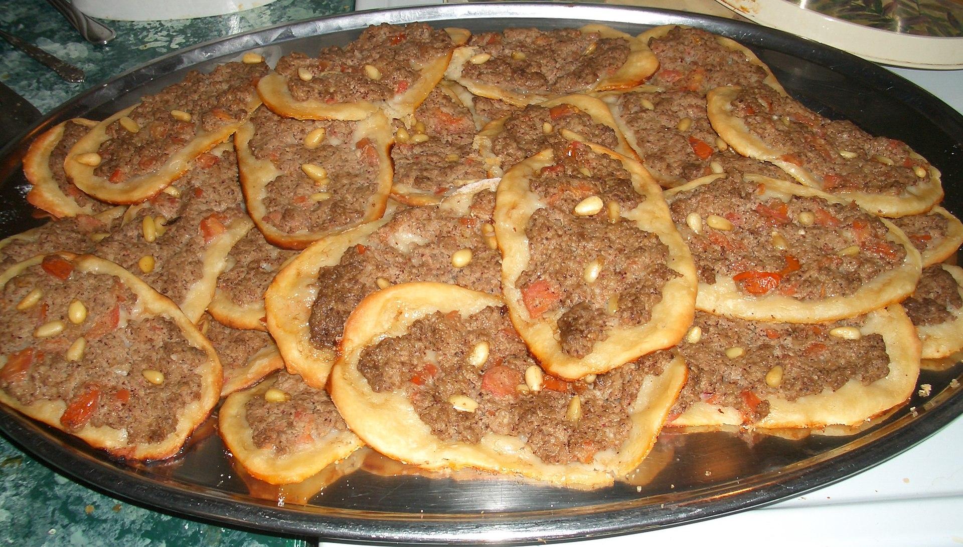 arab cuisine wikipedia