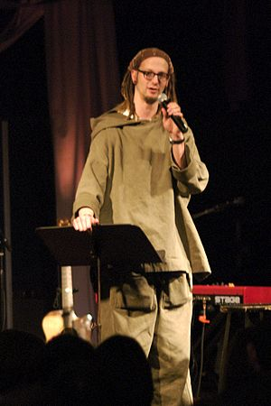 Shane Claiborne - Shane Claiborne speaking in 2007