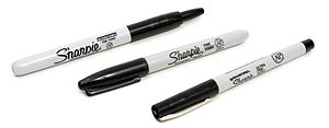 Sharpie (marker) - A variety of Sharpie types.