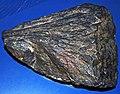 Shattercone (Paleoproterozoic, 1.85 Ga; Sudbury Impact Structure, Ontario, Canada) (14824505423).jpg