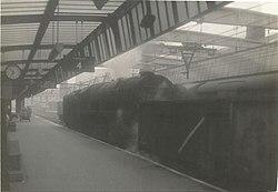 Sheffield Victoria, steam under the wires.jpg