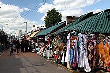Shepherds Bush Market In Spring 2013