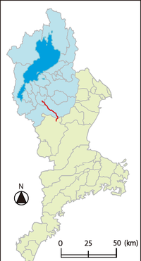 Shiga and Mie Prefectural route 4 Kusatsu-Iga Line.png