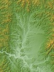 Shinjo Basin Relief Map, SRTM-1.jpg