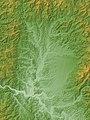 Shinjo Basin Relief Map, SRTM-1.jpg