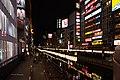 Shinsaibashi night, Osaka, Japan (8713543763).jpg