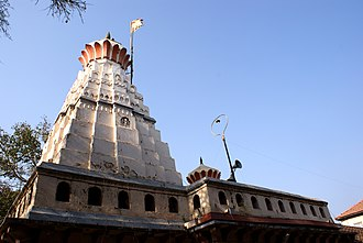 Chintamani Temple, Theur - The shikara of the temple