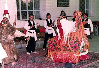Persian theatre - A Siahbazi performing