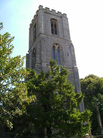 Sibsey - Image: Sibsey church tower