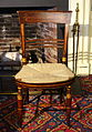 Side chair, eastern Massachusetts, c. 1810, birch and painted wood - Concord Museum - Concord, MA - DSC05786.JPG
