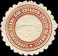 Siegelmarke Consulado - Geral dos estados unidos do Brazil W0223781.jpg