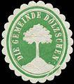 Siegelmarke Die Gemeinde Dölzschen W0369064.jpg
