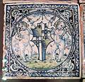 Siena, mattonelle dal palazzo del magnifico petrucci a siena, 1509 ca, 04.JPG