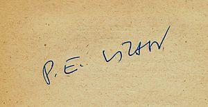 Paul-Émile Victor - Image: Signature P.E. Victor