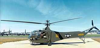 445th Flight Test Squadron - Sikorsky R-4B at National Museum of the United States Air Force