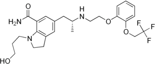 Silodosin chemical compound