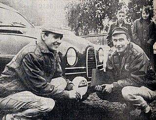 Simo Lampinen Finnish rally driver