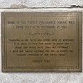 Simone Weil plaque - NYC home.jpg