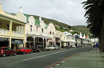 English: The historical centre of Simon's Town