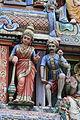 Singapore. Sri Mariamman. Gopuram. South East-31.JPG