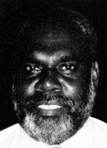 George Lepping at Hibiscus Hotel (later: King Solomon Hotel) in Honiara (June 1993), for the closure of Youth Challenge International's Project Solomon Islands 1993.