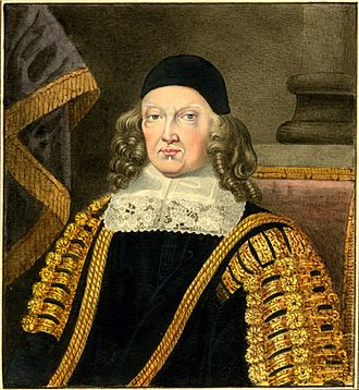 Silvester Harding - Harding's portrait of Sir Harbottle Grimston, 2nd Baronet (c. 1603–1685), an English politician
