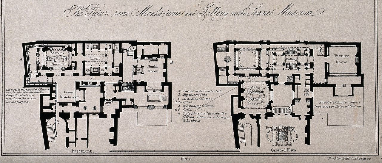 File Sir John Soane S House And Museum Plans Of The