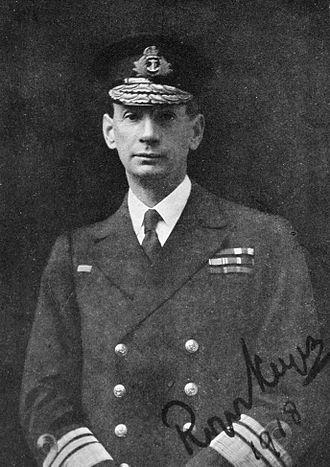 Roger Keyes, 1st Baron Keyes - Vice Admiral Sir Roger Keyes, 1918